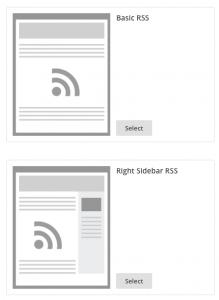 mailchimp-rss-templates