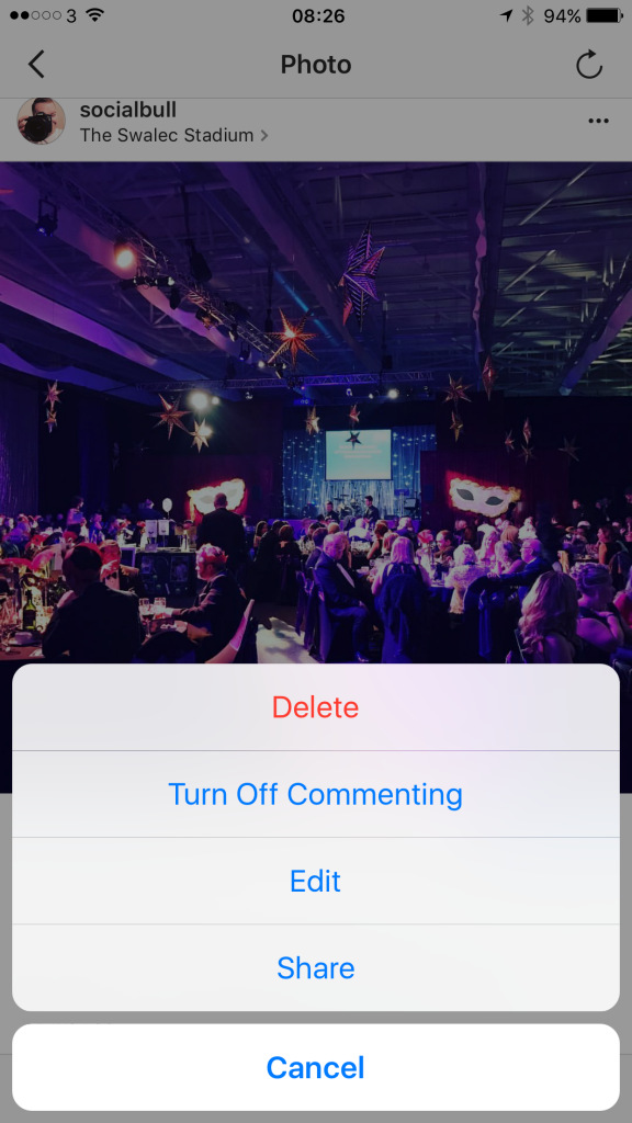 Instagram turn off commenting