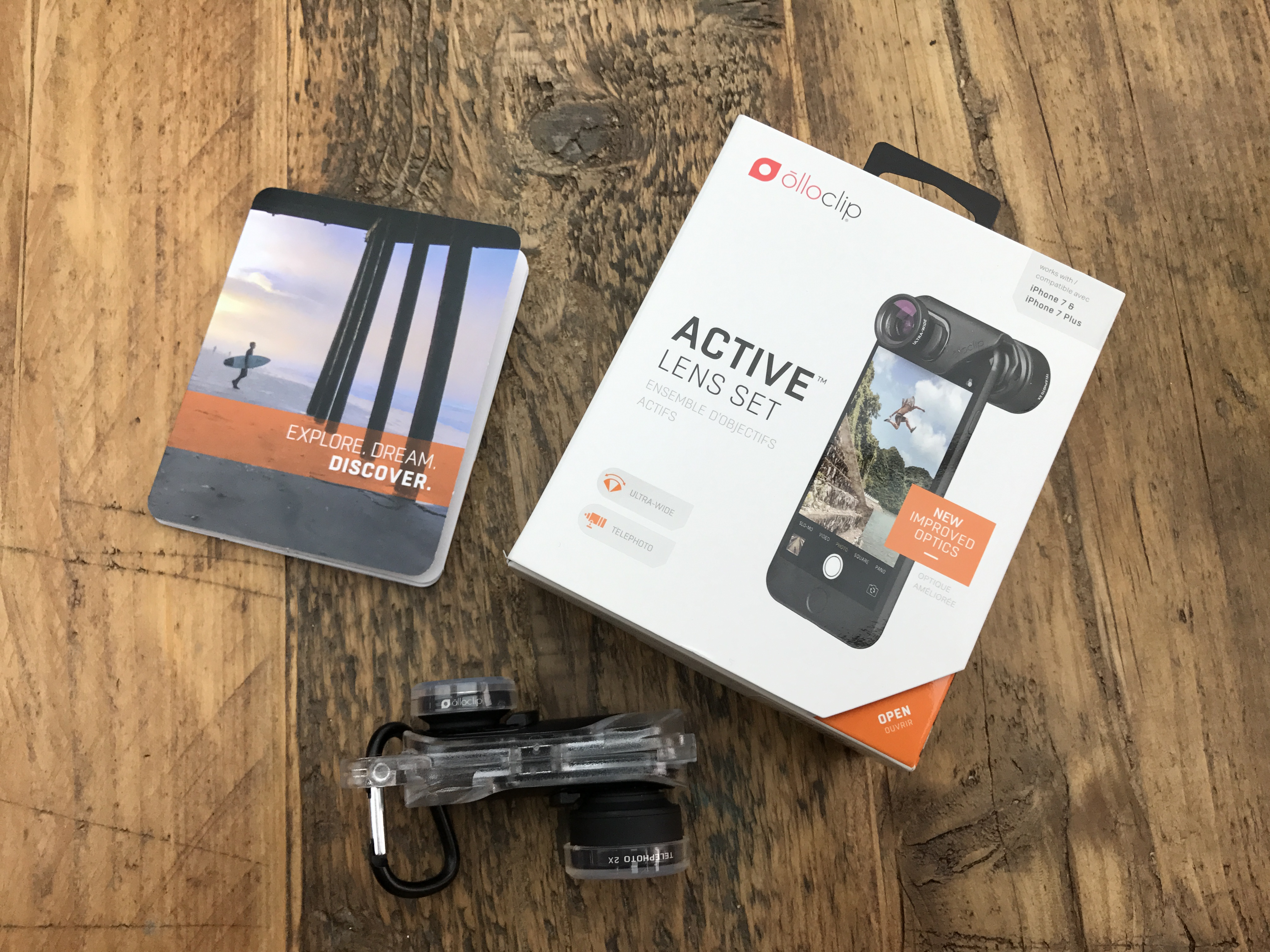 finest selection e0094 cf528 First impressions of the Olloclip for the iPhone 7 Plus